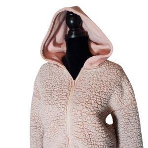 Forever 21 Hooded Zip Up Jacket